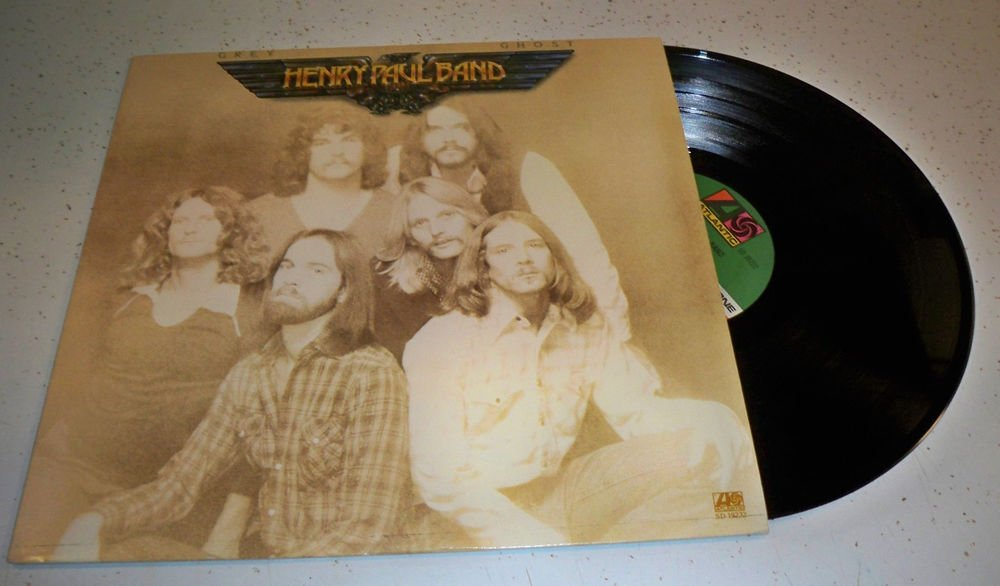 Henry Paul Band Grey Ghost 1978 Vinyl Lp Record Atlantic SD 19232