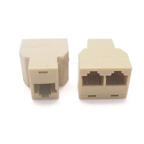 Ethernet Cable Extender Connector RJ45 CAT5 CAT6 Internet Cable Extender New