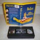 The Beatles Yellow Submarine Movie VHS 1968 Clamshell Case Lennon McCartney