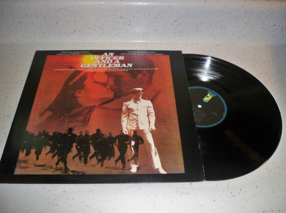 An Officer And A Gentleman Pat Benatar/Dire Straits/Van Morrison VINYL VG+