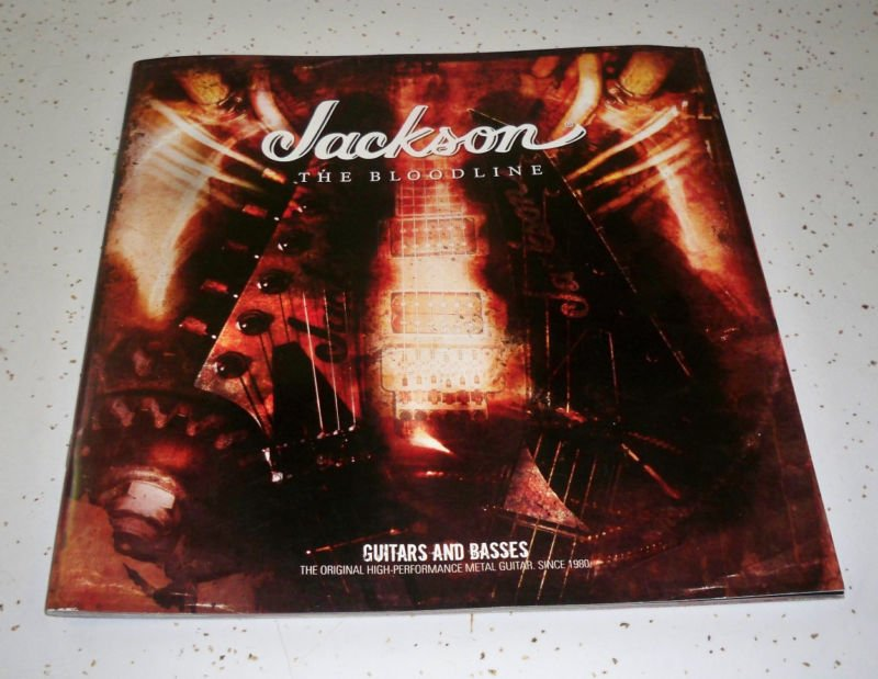 "2008 Jackson ""The Bloodline"" Guitars and Basses Catalog"