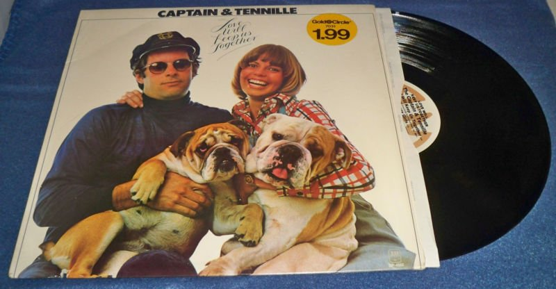Captain & Tennille Love Will Keep Us Together LP A&M 4552 '75 EX/EX