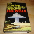 The Complete Science Fiction Treasury of H. G. Wells 1978 Hardcover