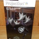 Gemmy LED Light Show Projection Whirl Motion Ghost Halloween Decoration See Demo