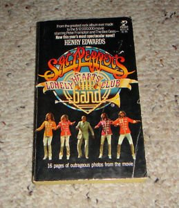 Beatles Sgt Peppers Lonely Hearts Club Band Book Bee Gees Frampton VG 1978 1st