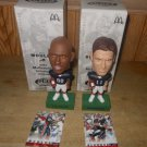 Drew Bledsoe & Eric Moulds Collectible Bobbleheads 2003 McDonald's Buffalo Bills