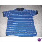 Polo Teen Men Stripe Short Sleeve Shirt - Size Large