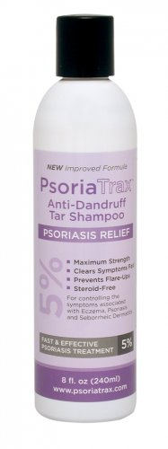 Coal Tar Shampoo Psoriatrax 8oz 25% Coal Tar Solution - Equivalent to 5% Coal Tar