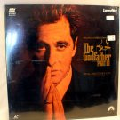 The Godfather Part III, Final Director's Cut, Laser Disc, LV 32318-2 New, Sealed