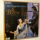 The Metropololitan Opera, La Boheme, Laser Disc, Jan. 1982, New, Sealed