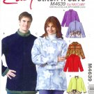 M4639 McCall Pattern EASY STITCH'N SAVE Jackets Misses /  Mens Size B  XL, XXL
