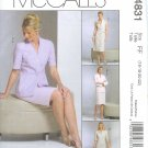 M4831 McCalls DRESS ALTERNATIVES Jacket,Dress Tie Belt, & Skirt Misses/Miss Petite Size 16,18,20,22