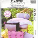 "M3070 McCall Pattern HOME DECORATING 11 STYLES ""PILLOW ESSENTIALS"