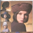 V7784 Vogue Pattern Accessories Misses Hats