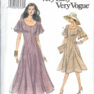 V8696 Vogue Pattern VERY EASY VERY VOGUE Dresses Misses Size 12,14,16