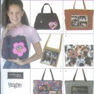 S4435 Simplicity Pattern Bags by Elaine Heigl Designs