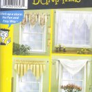 S7164 Simplicity Pattern for Dummies  Window Treatments