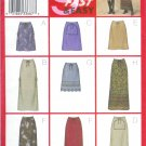 B3201 Butterick Pattern 9 SEW FAST EASY Skirt Misses/Miss Petite Size 14, 16,18