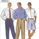 B3217 Butterick Pattern Shirt, Shorts, Pants Men Size  L, XL