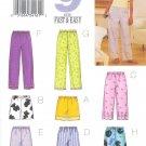 B3314 Butterick Pattern 9 FAST EASY SEW Top, Shorts, Pants Misses/Miss Petite Size XS, S, M