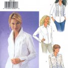 B3525 Butterick Pattern Shirt Misses Size 6, 8, 10