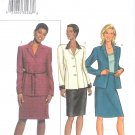 B3578 Butterick Pattern EASY Jacket, Skirt Misses/Miss Petite Size 6, 8, 10