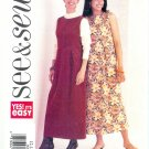 B3620 Butterick Pattern EASY SEE & SEW Misses Size B 12, 14, 16