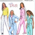 B3922 Butterick  Pattern Jacket, Vest, Top, Pants PLUS Girls Size 7-14