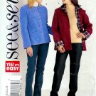 B3938 Butterick Pattern EASY SEE & SEW Jacket Misses Size 20, 22, 24
