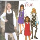 B3960 Butterick Pattern  FAST & EASY Jumper PLUS Girls Size 7, 8, 10, 12, 14