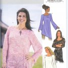 B3970 Butterick Pattern EASY Tunic PETITE Misses Size XS, S, M