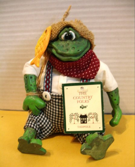 "RUSS BERRIES &  CO "" Tadpole ""  Frog ** FREE SHIPPING**"