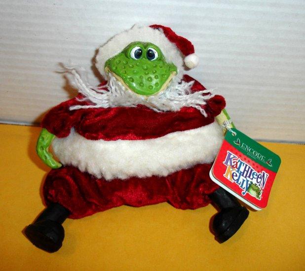 "ENCORE - KATHLEEN KELLY "" Santa Frog "" ** FREE SHIPPING **"