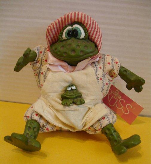 "RUSS BERRIES & CO "" Freida "" Frog "" FREE SHIPPING """