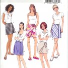BP351 Butterick Pattern EASY PETITE Skirts and Skorts Misses Size 6,8,10