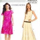 BP411 Butterick Pattern CYNTHIA HOWIE EASY Dress Misses/Miss Petite Size AA 6-12
