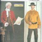 B3896 Butterick Pattern 18th CENTURY Costume Coat, Shirt, Stock Mens Size XS, S, M