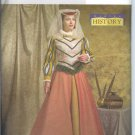 B4375 Butterick Pattern HISTORY BY CINDY CHOCK Costume Misses Size AA 6-12