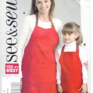 B4585 Butterick Pattern EASY SEE&SEW Apron Adult/Child   OSZ