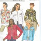 B4741 Butterick Pattern CLASSICS EASY Jacket Misses/Miss Petite Size BB 8-10-12-14
