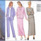 B6709 Butterick Pattern FAST & EASY Jacket, Top, Skirt, Pants Misses/Miss Petite Size 6, 8, 10
