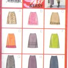 B6834 Butterick Pattern 9 FAST & EASY Skirt  Misses/Miss Petite Size 12, 14, 16