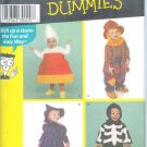 S4005 Simplicity Pattern (FOR DUMMIES) Costume Toddler Size A  1/2, 1, 2, 3, 4