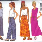 B3150 Butterick  Pattern FAST&EASY Tops, Skirts, Pants Girls Size 7, 8, 10