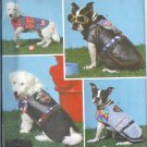 S4274 Simplicity Pattern DOGGY DESIGN COATS by Donna J. Sporie in Two Sizes A