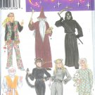S4454 Simplicity Pattern Costumes Misses/Mens/Teens Size A  XS,S,M,L,XL