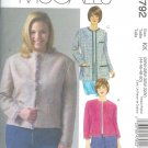 M4792 McCalls Pattern WOMAN STYLE Lined Jacket in two lengths Womens/Womans Petite Size  RR 18W-24W