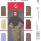 "M4925 McCalls Pattern  ""6 GREAT LOOKS"" Skirts Misses/Miss Petite  Size BB 8-10-12-14"