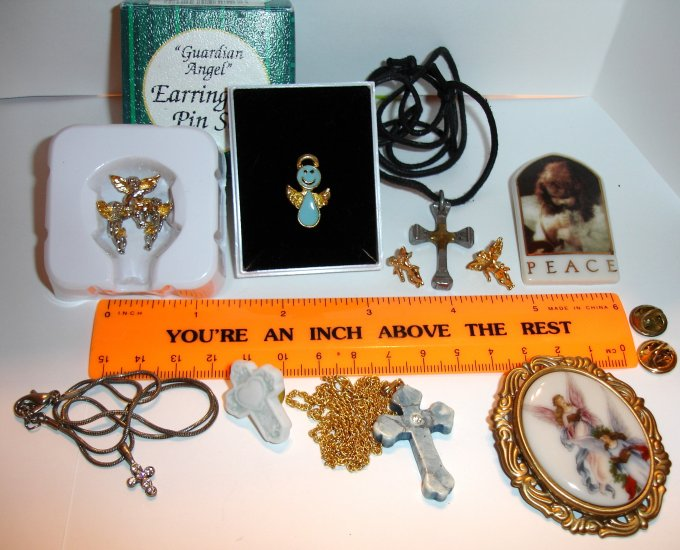 Christian Jewelry Lot