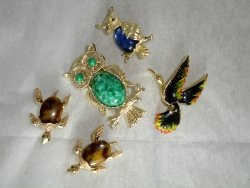 Animals - Signed GERRY'S Brooches
